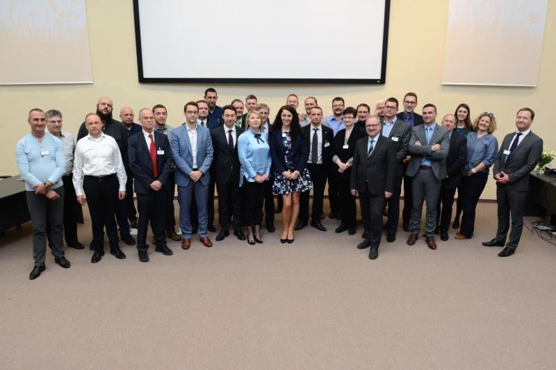 Специалисти от ДП РАО участваха в тристранен семинар в Словакия за споделяне на опит  /снимки/