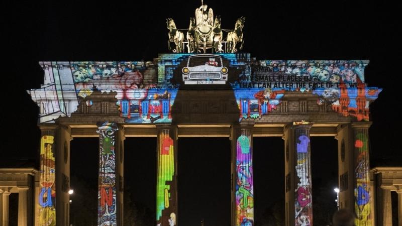 В дните между 5-14 октомврицентралната част на германската столица Берлин