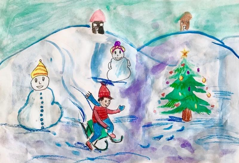 "ПП ГЕРБ – Враца обяви конкурс за рисунка ""Вълшебна Коледа"""