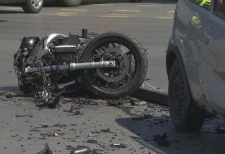 Сериозна катастрофа е станала в центъра на София преди минути,