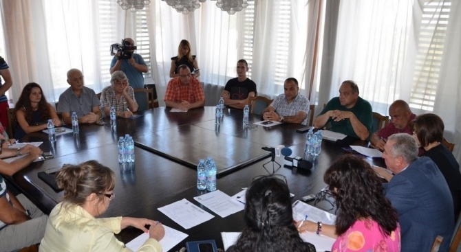 Кметът на община Видин Огнян Ценков проведе консултации за определяне