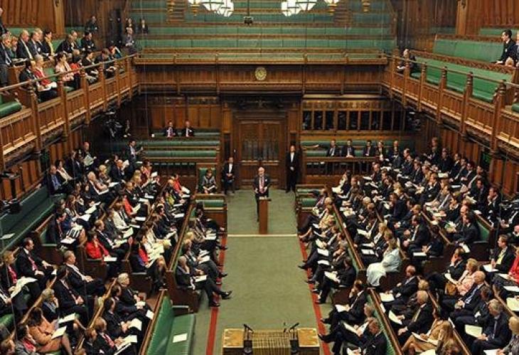 Следи от кокаин са открити в сградата на британския парламент.