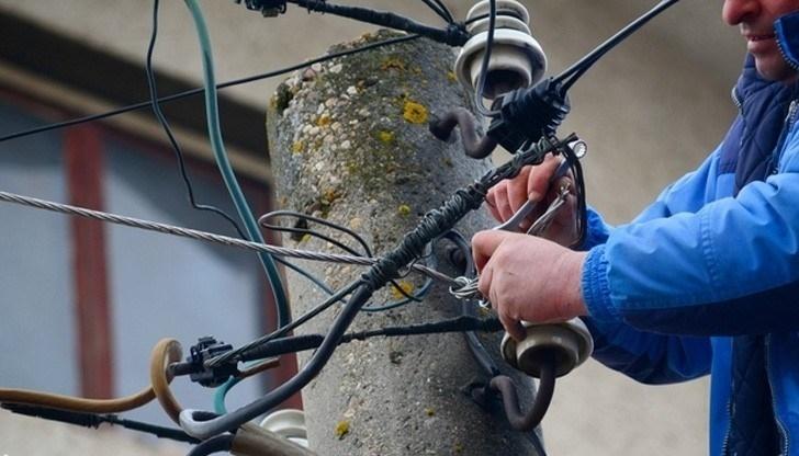 Снимка: Масово крадат ток в Берковско
