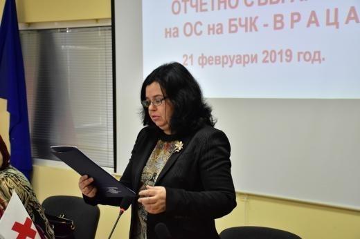Заместник-директорът на Регионалната здравна инспекция във Враца д-р Ирена Видинова