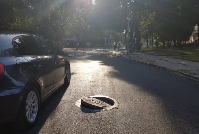 Поредният недоизпипан ремонт ядоса шофьорите в Козлодуй, научи агенция BulNews.