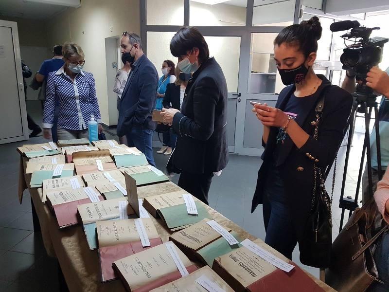 Изложба на юридически книги от 19 и началото на 20