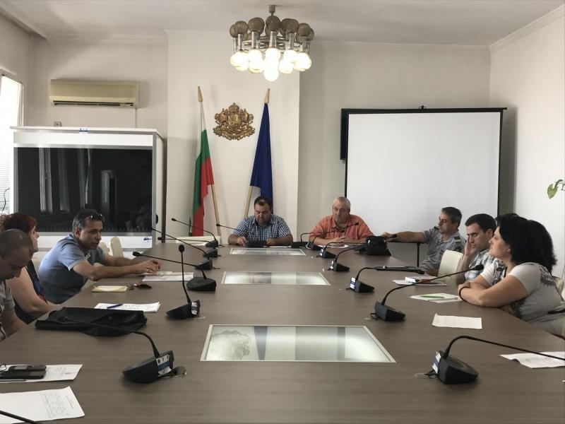 Заместник областният управител Мирослав Комитски проведе извънредно заседание на Областната