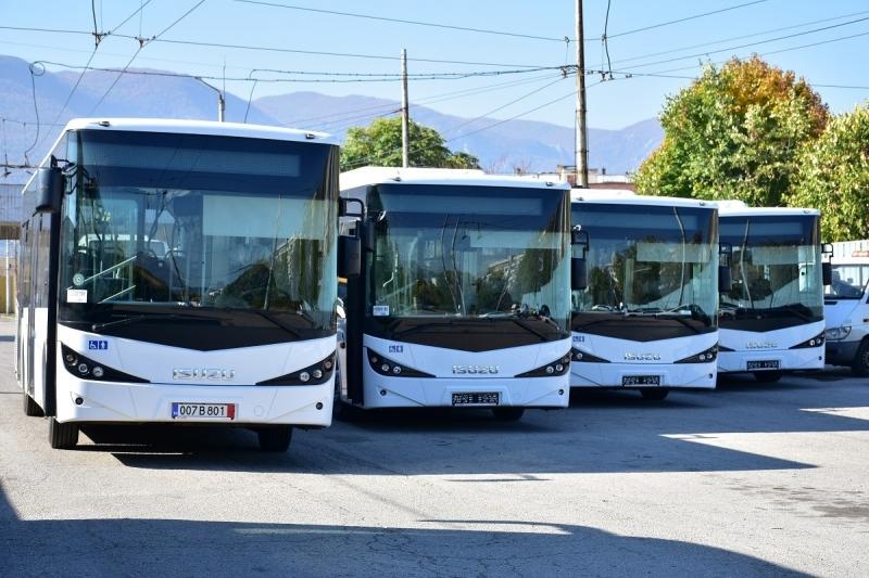 """В депото на """"Тролейбусен транспорт"""" бяха приети още 4 чисто"""