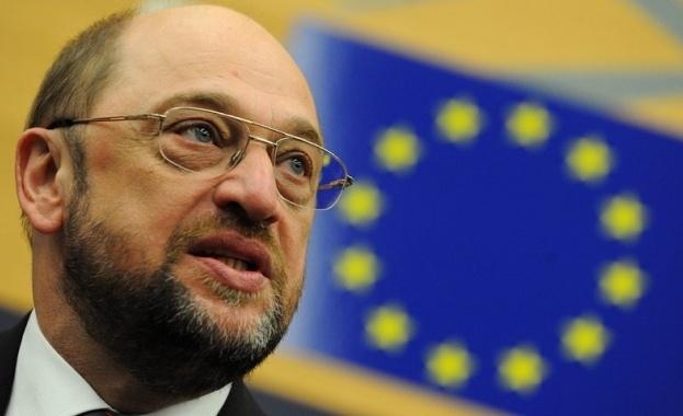 Неуспелият кандидат за канцлер и бивш председател на Европарламента Мартин