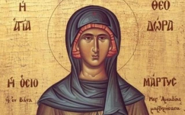 Прекрасни имена празнуват заради светица, преобразила се в мъж