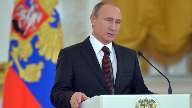 Президентът на Русия Владимир Путин подписа указ за налагане на