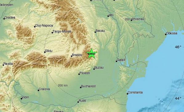 Земетресение с магнитуд 3.8 по Рихтер е регистрирано тази сутрин