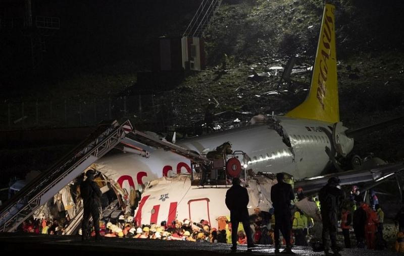 Турският министър на здравеопазването Фахреттин Коджа съобщи, чезагиналите при самолетната