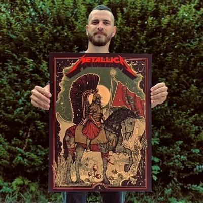 """Дидо Пешев е първият български илюстратор, правил плакат за """"Металика"""","""