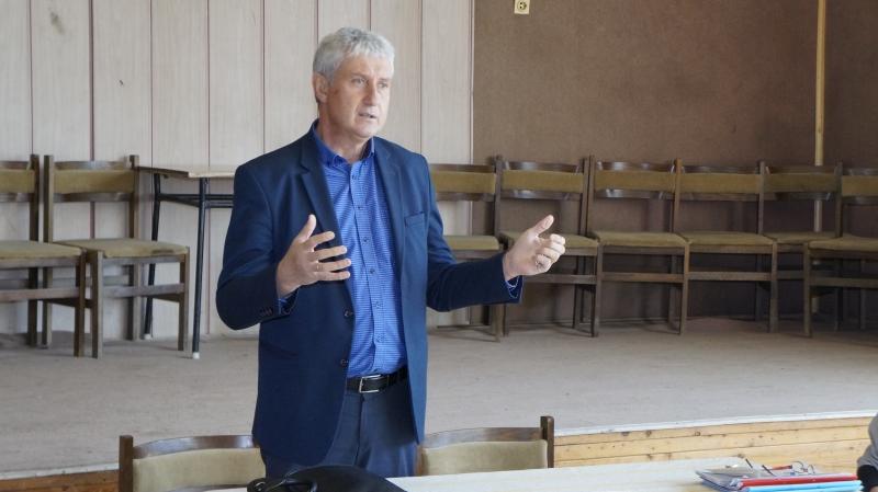 Кметът на Мездра Генади Събков направи отчет за 2018 г. в село Крета
