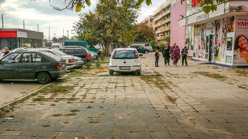 Безобразното паркиране във Видин няма край, но освен от него