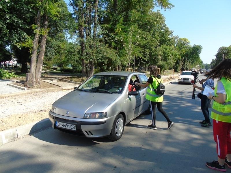 В Бяла Слатина отбелязаха международния ден на безопасността на движението