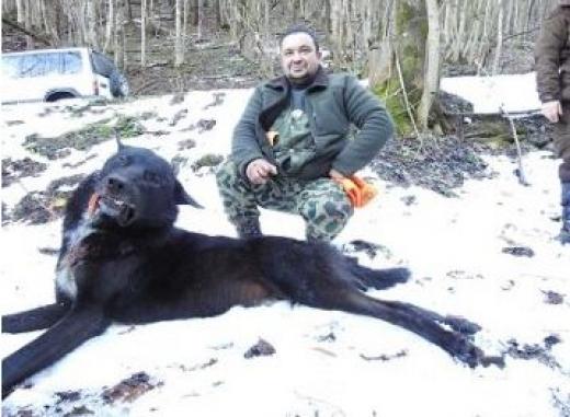 Фермер от берковското село Черешовица, който е и ловец в