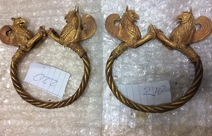 Обвинен за златното съкровище за 2 млн. евро: То е фалшиво /снимки/