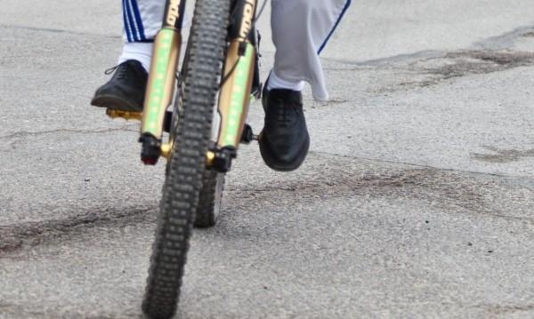 Снимка: Съставиха акт на блъснатия от линейка велосипедист в Монтана