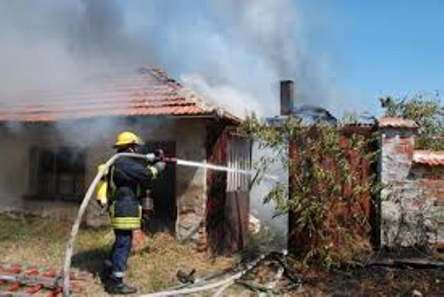 Бездомник от Вършец е запалил къща, съобщиха от полицията в