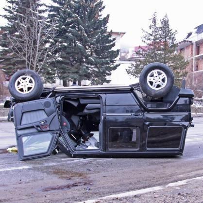 Свиреп пътен инцидент е станал днес в столицата. Млада жена