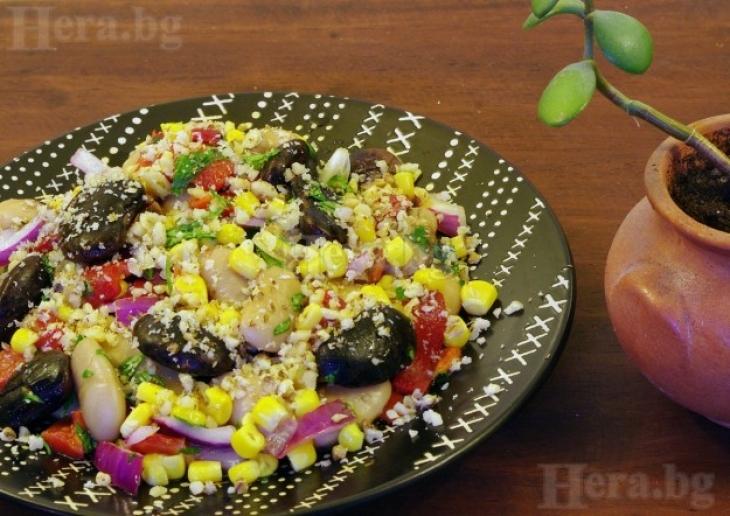 Снимка: Вкусна салата от сърцето на Родопите се приготвя за по-малко от 5 минути