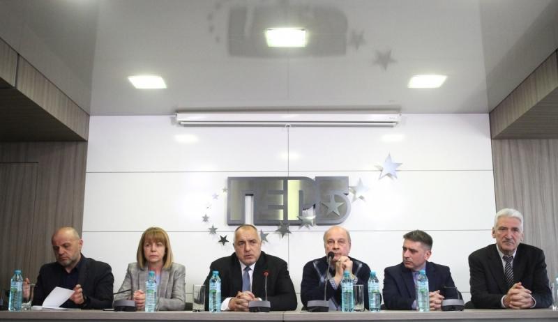 На свое заседание днес Изпълнителната комисия на ГЕРБ възложи на