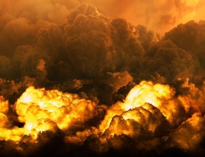 Експлозия избухна днес близо до Националната дирекция по сигурността (НДС)