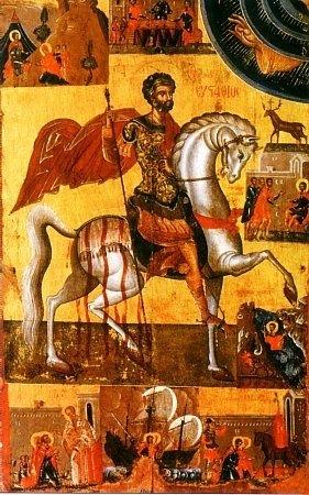 На днешния ден православната църква почита Св. великомъченик Евстатий Плакида