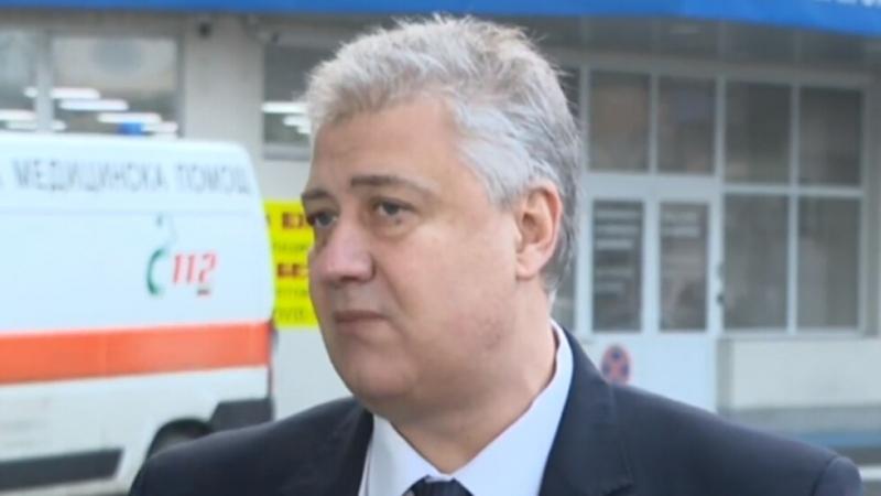 """Изпълнителият директор на """"Пирогов"""" проф.Асен Балтов посочи пред журналисти, че"""
