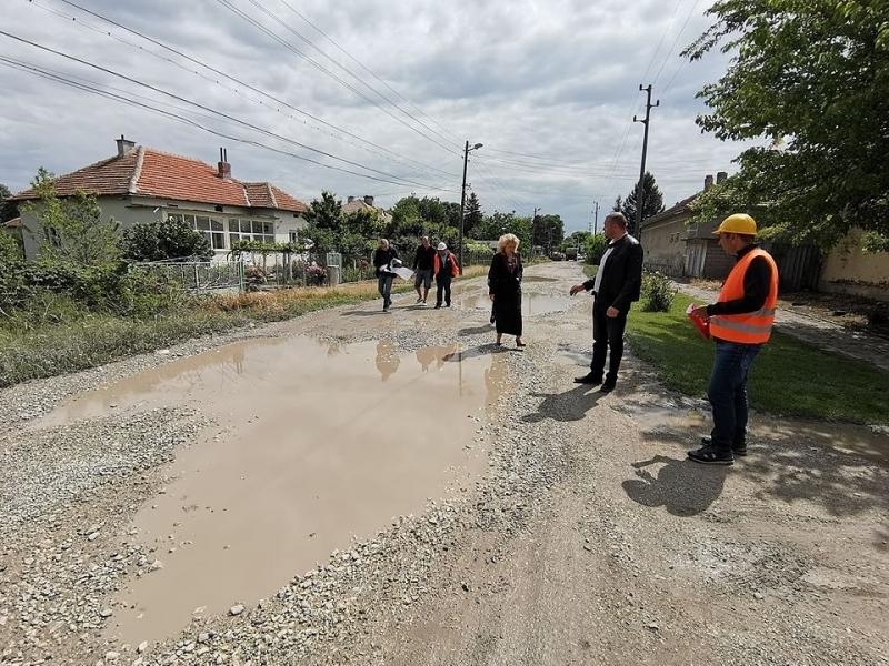 """Днес беше открита строителна площадка за обект - """"Рехабилитация на"""