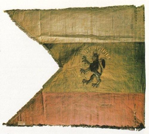 Краеведът Йордан Георгиев дарява реплика на Браилското знаме на Историческия