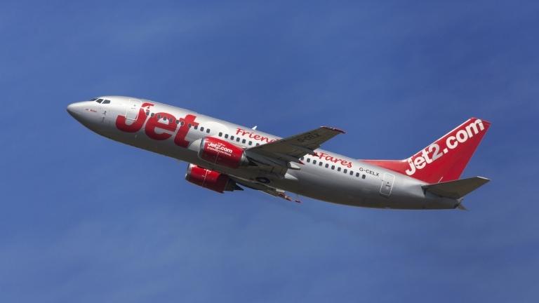 Британската авиокомпания Jet2 настоява за обезщетение в размер на 106