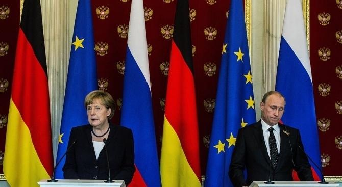 Германският канцлер Ангела Меркел и руският президент Владимир Путин ще