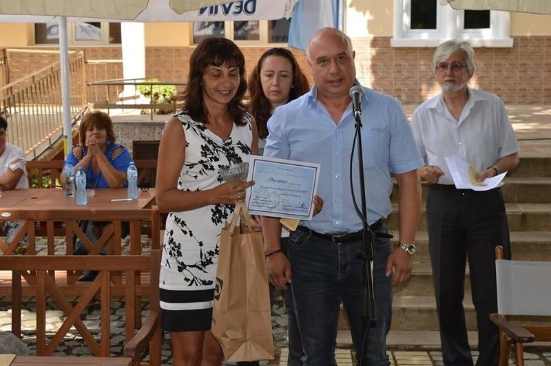 """Наградиха призьорите в третия общобългарски литературен конкурс, """"Награда Лъчезар Станчев"""""""