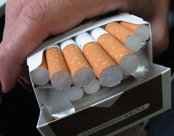 Полицията е глобила мъж за кутия с цигари без бандерол,