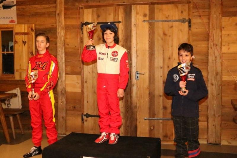 8-годишно момче от Враца триумфира в швейцарската картинг лига /SKL/