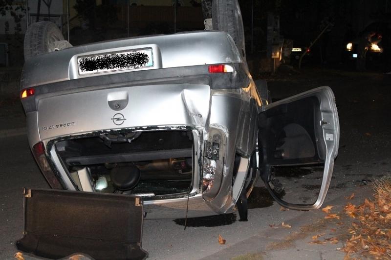 Пиян шофьор е катастрофирал във врачанското село Манастирище тази нощ,