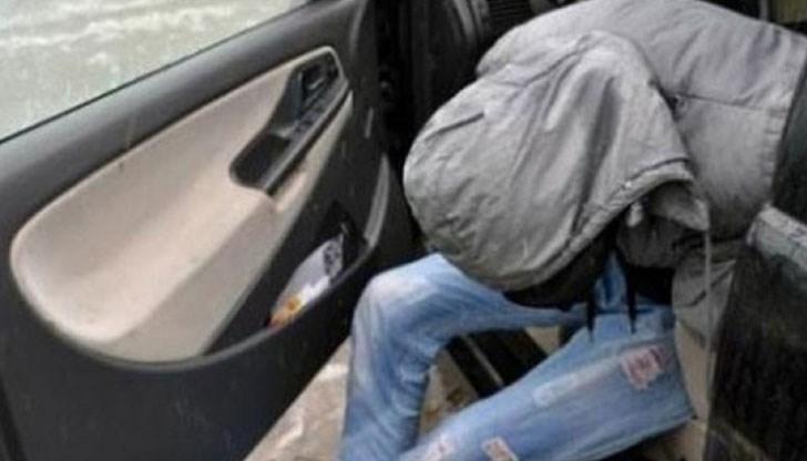 31-годишен преспа в ареста, след като го хванали надрусан зад