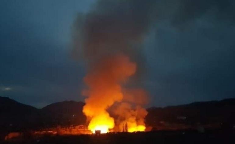 Голям пожар във Венецуела, 12 души загинаха