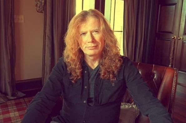 Дейв Мъстейн, легендарният лидер на метъл бандата Megadeth, е диагностициран