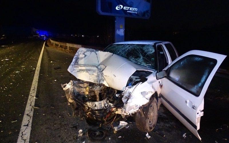 Пиян бандит от врачанското село Згориград предизвика тежка катастрофа в