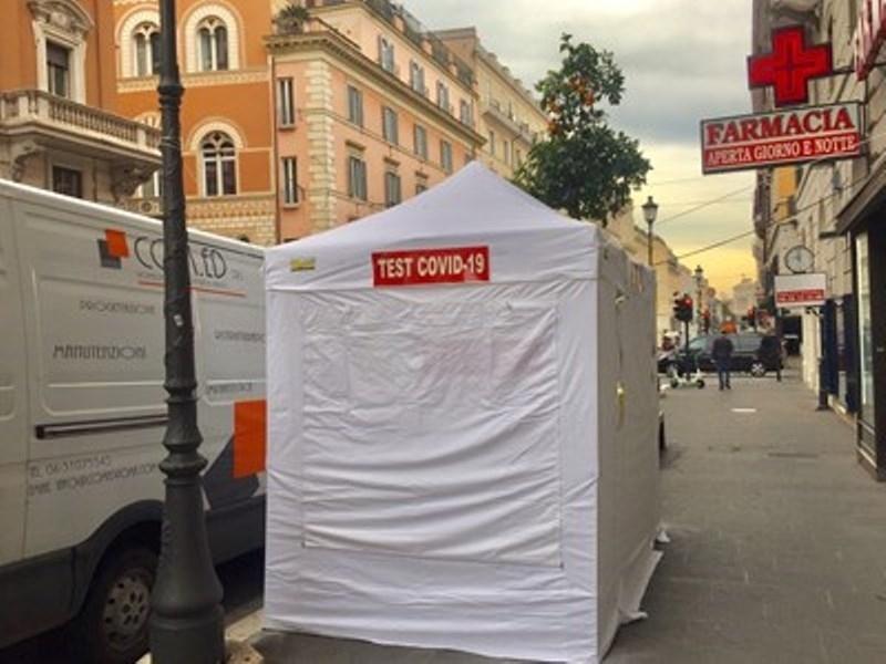 В Рим вече може да се изследваш за COVID-19 и пред аптеката