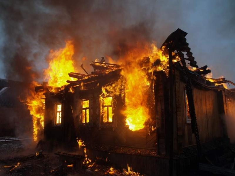 Проявена небрежност при използване на отоплителен уред довела до пожар