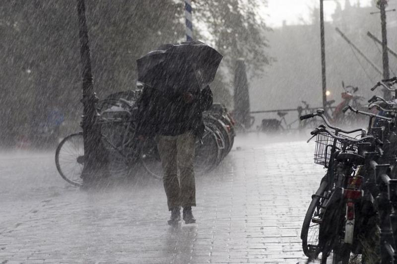 Жълт код за интензивни валежи и гръмотевици обявиха от Националния