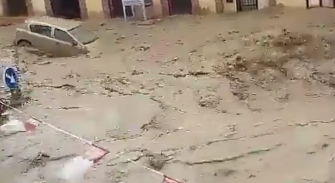 Силни бури удариха района на град Толедо и причиниха незапомнени