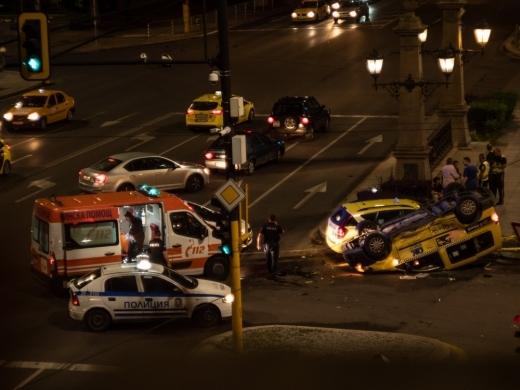 Катастрофите в София нямат край. Пореден сблъсък е станал тази