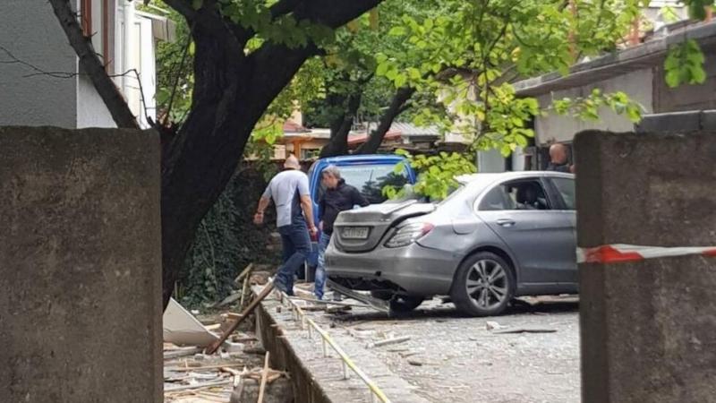 Взривиха автомобил в Стара Загора. Инцидентът е станал на ул.