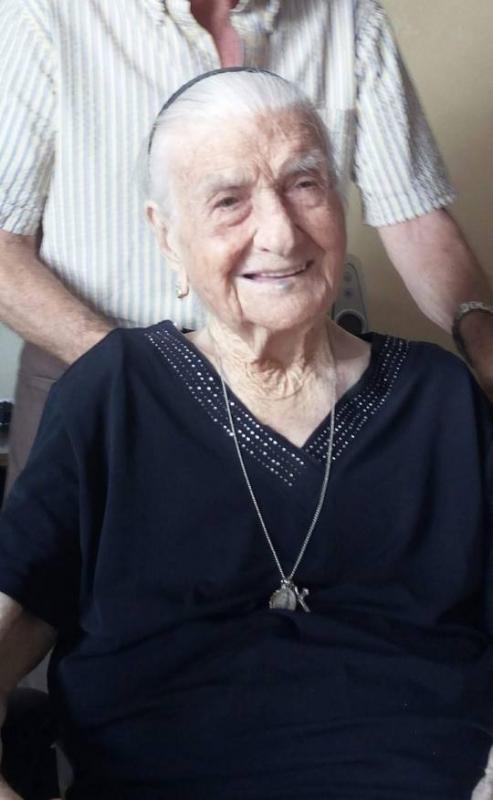 Джузепина Робучи - най-възрастният човекв Европа и вториятнай-възрастенчовек в света,